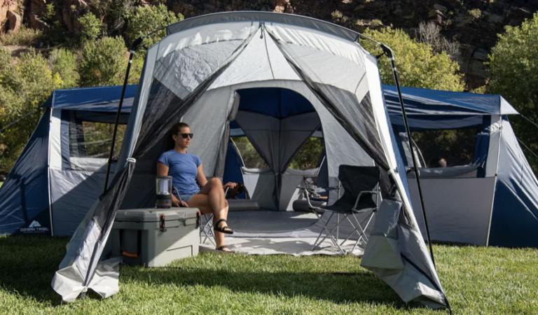 露營直接帶5室一廳! 免分帳「5角形帳篷」比公寓還大:20人也能睡下~