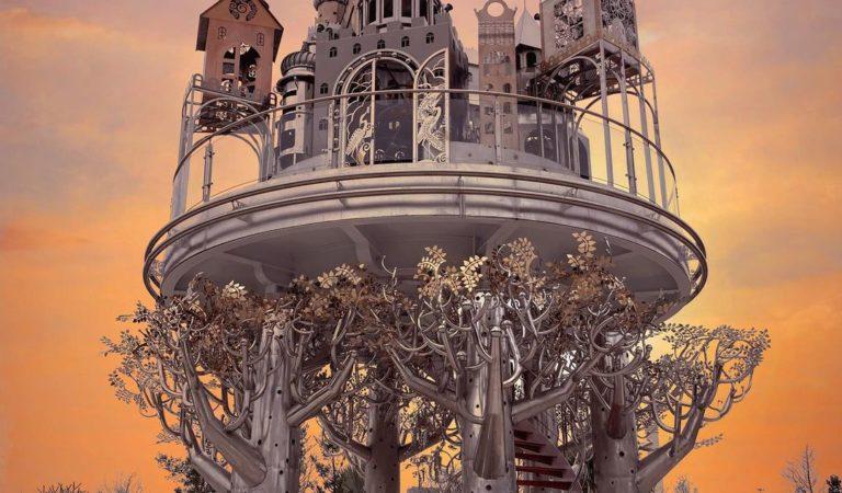 台版天空之城! 絕美歐風拍照景點「赫蒂法莊園」 白日光映照、夜晚點燈都超夢幻~