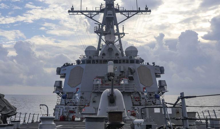 有圖有真相!中國智庫PO美艦位置 意外打臉南部戰區「驅離」說