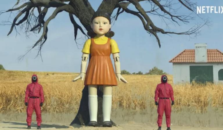 誰敢朝聖?《魷魚遊戲》木頭人娃娃是真的 回歸小鎮卻「少一隻手」超奇異!